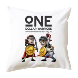 One Dollar Warriors  - Cushion cover